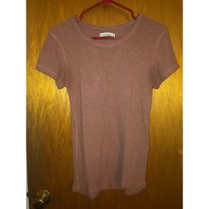 Abercrombie & Fitch Ribbed T Shirt